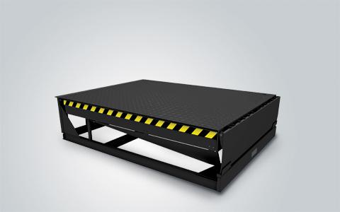 Электрогидравлические платформы с поворотной аппарелью